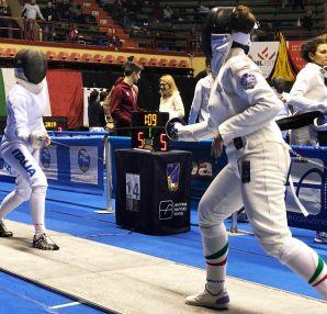 Campionato Italiano Under-23: Maria Grazia Tedeschi in azione