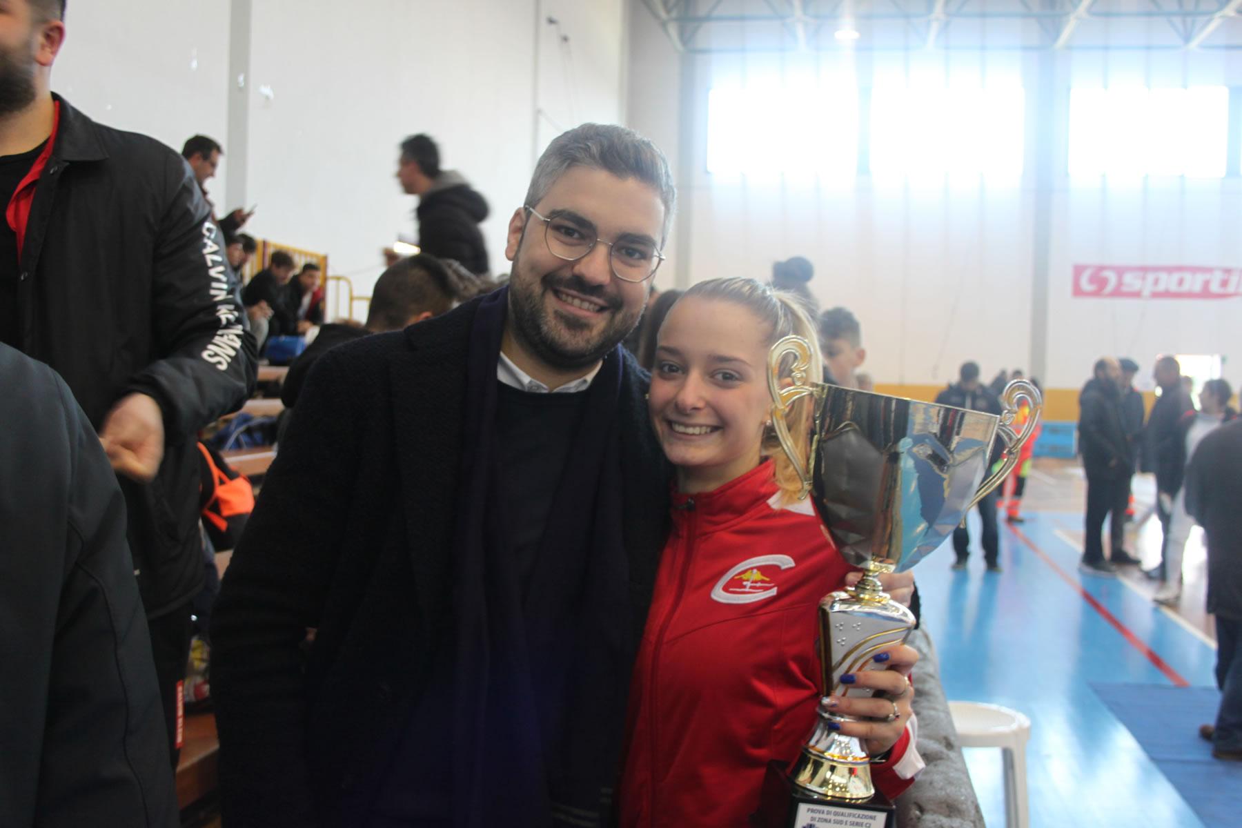 Prova Zona Sud 2020: Gaia Pia Carella, campionessa di sciabola femminile