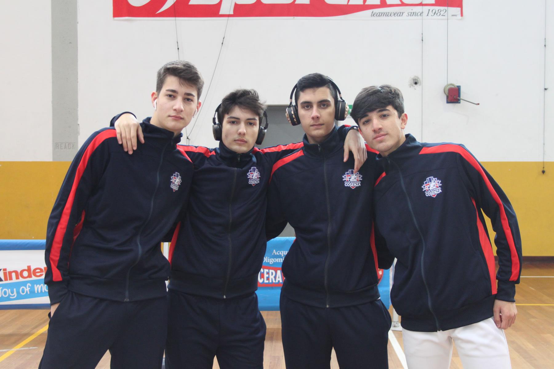Campionato Serie C2 spada a squadre 2020: squadra maschile