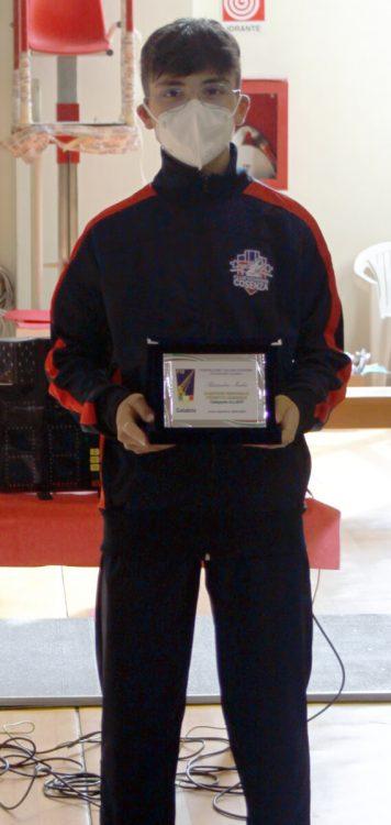Titoli regionali GPG 2020/21: Alessandro Madeo, campione Fioretto cat. Allievi