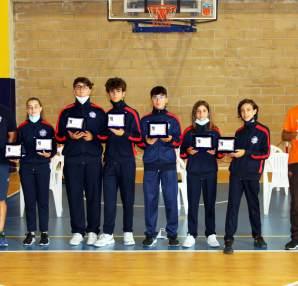 Titoli regionali GPG 2020/21: delegazione del Club Scherma Cosenza