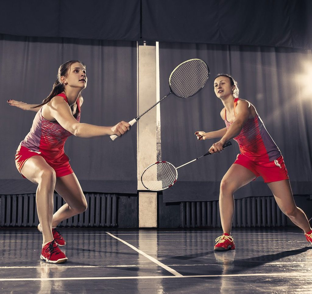 Badminton Sport Header