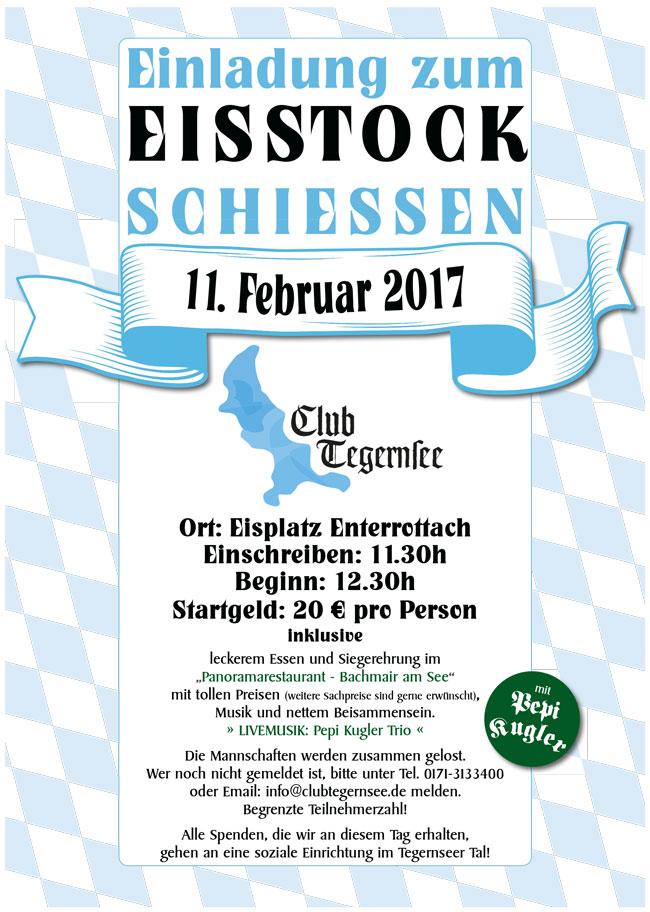 Eisstock-Schießen am 11. Februar