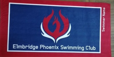 Elmbridge Phoenix Named Towel