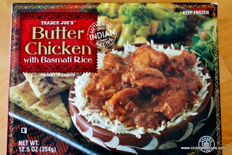 Trader Joe S Butter Chicken With Basmati Rice Club Trader Joe S