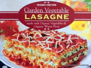 Trader Joe's Garden Vegetable Lasagne