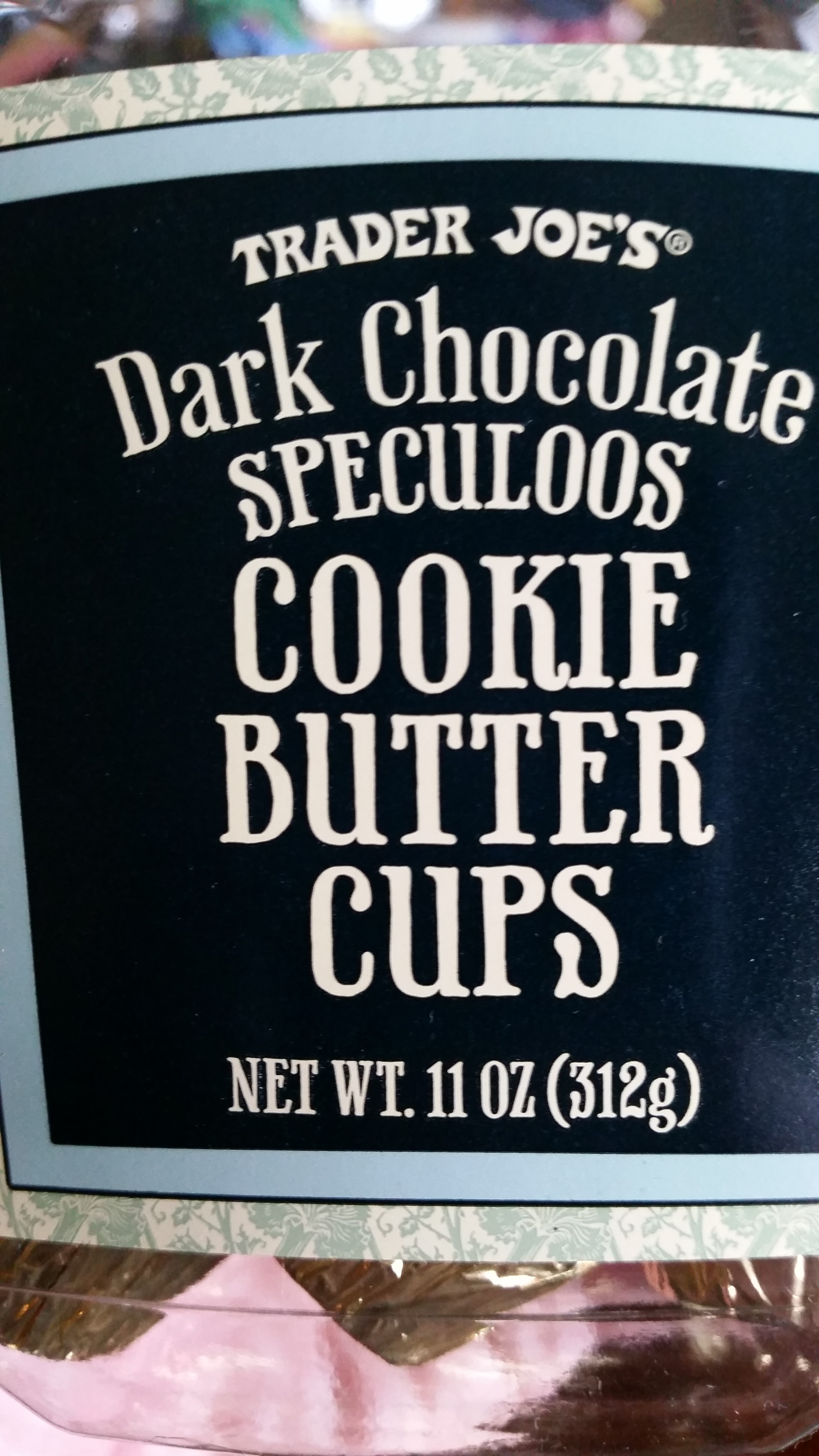 Trader Joe S Dark Chocolate Speculoos Cookie Butter Cups