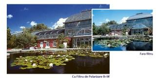 Efectul filtrului de polarizare B+W