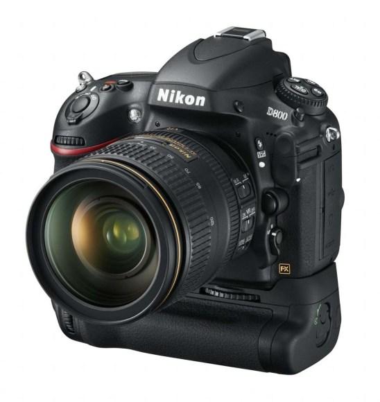 Nikon D800 cu grip