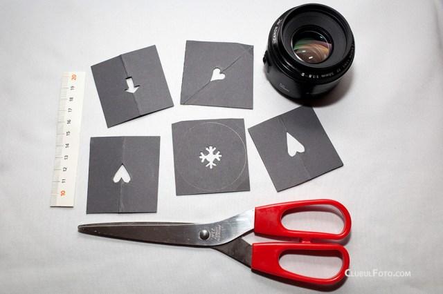 Imaginatia este limita: puteti experimenta cu orice forma geometrica!