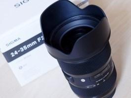 Noul obiectiv Sigma 24-35mm f/2.0 a ajuns la Clubul Foto pentru teste