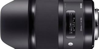 Sigma 20mm f/1.4