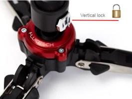 Baza cu tehnologie FluidTech a monopiedului Manfrotto MVMXPRO500