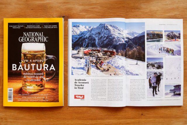Revista National Geographic Romania, editia Februarie 2017 si fotografiile inregistrate cu Panasonic GH4