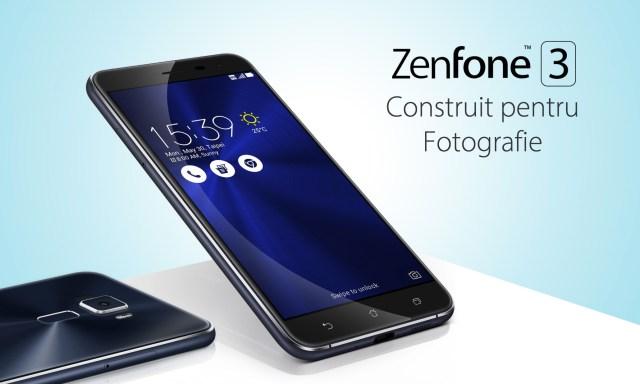 ASUS Zenfone 3 - construit pentru fotografie