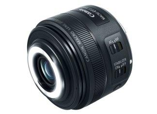 Canon EF 35mm Macro cu ring-flash integrat