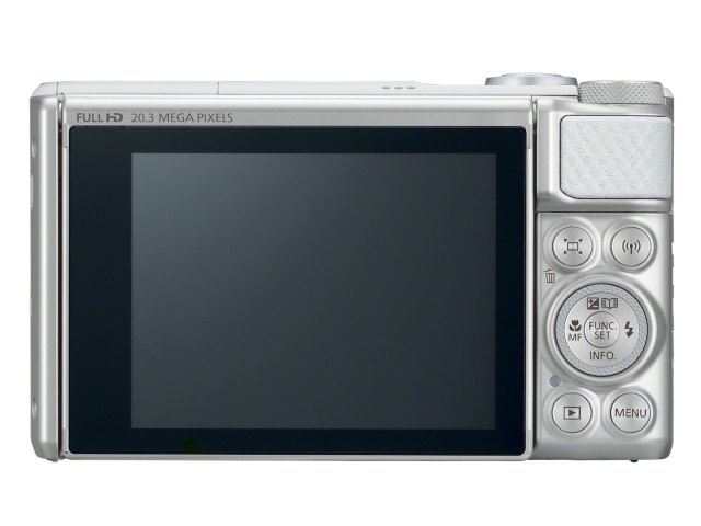 Canon SX730HS are ecran LCD rabatabil cu diagonala de 3 inch