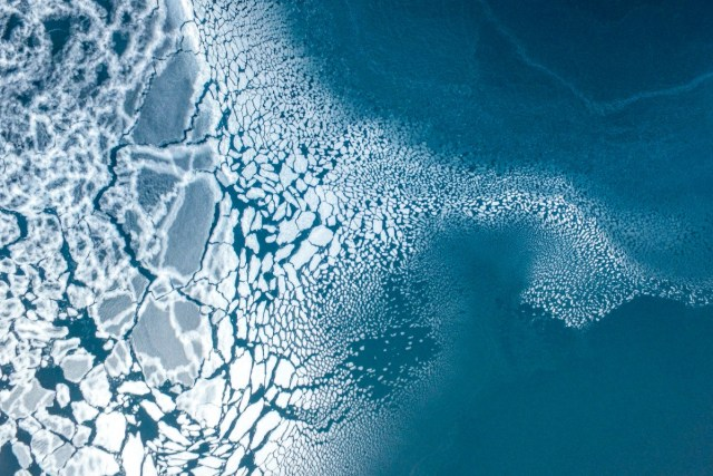 3rd Prize Winner – Nature: Ice formation by Florian