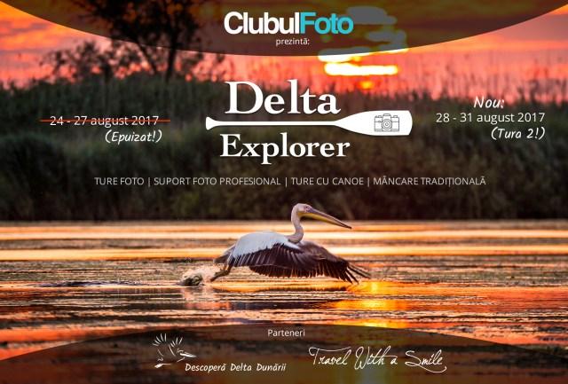 Delta Explorer, tura a II-a: 28-31 August 2017