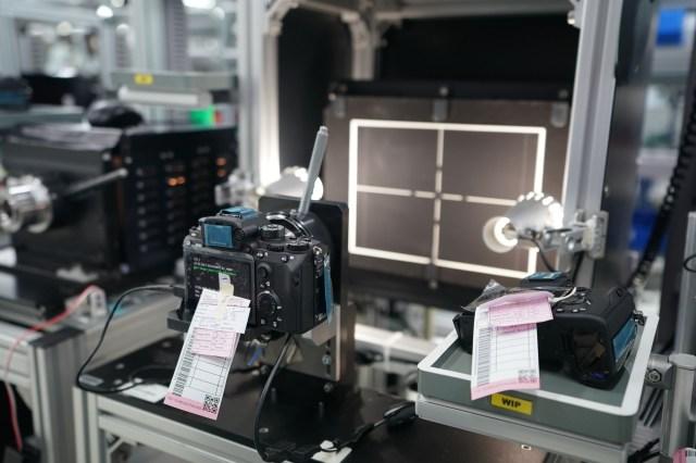 Verificarea computerizata a planeitatii monturii proaspat montate pe noua camera Sony A9