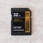 Lexar 2000x SDHC 32GB UHS-II