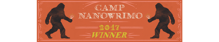 Camp NaNoWriMo winner logo