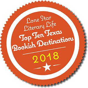 Lone Star Literary Life Top Ten Texas Bookish Destinations 2018 Badge