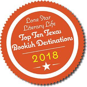 Lone Star Literary Life Top Ten Texas Bookish Destinations 2018 Badge