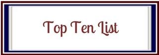 Top Ten List banner