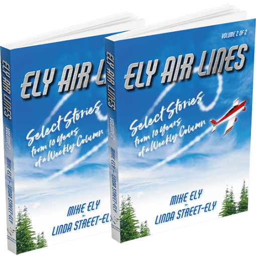 Covers of Ely Air Lines Volumes 1 and 2