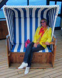 Brina an Bord MS Columbus 2