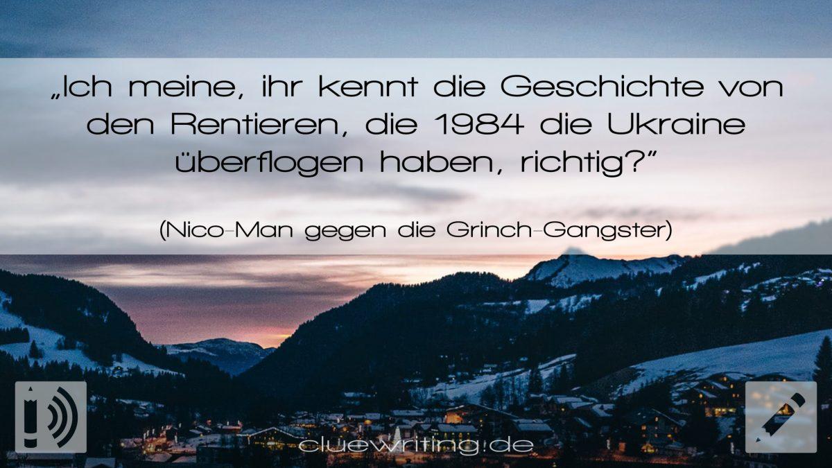 S09E19 | Nikolaus-Special | Nico-Man gegen die Grinch-Gangster