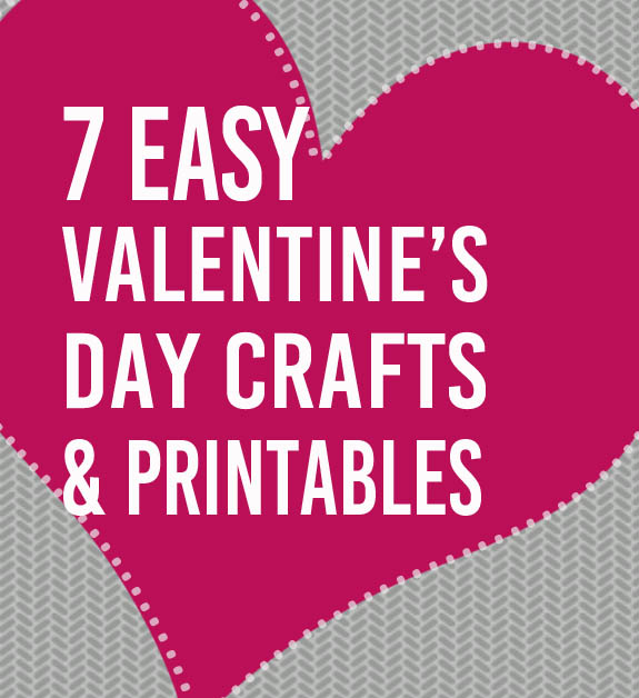 Printable Valentines Day Craft Easy