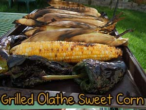 grilled olathe sweet corn