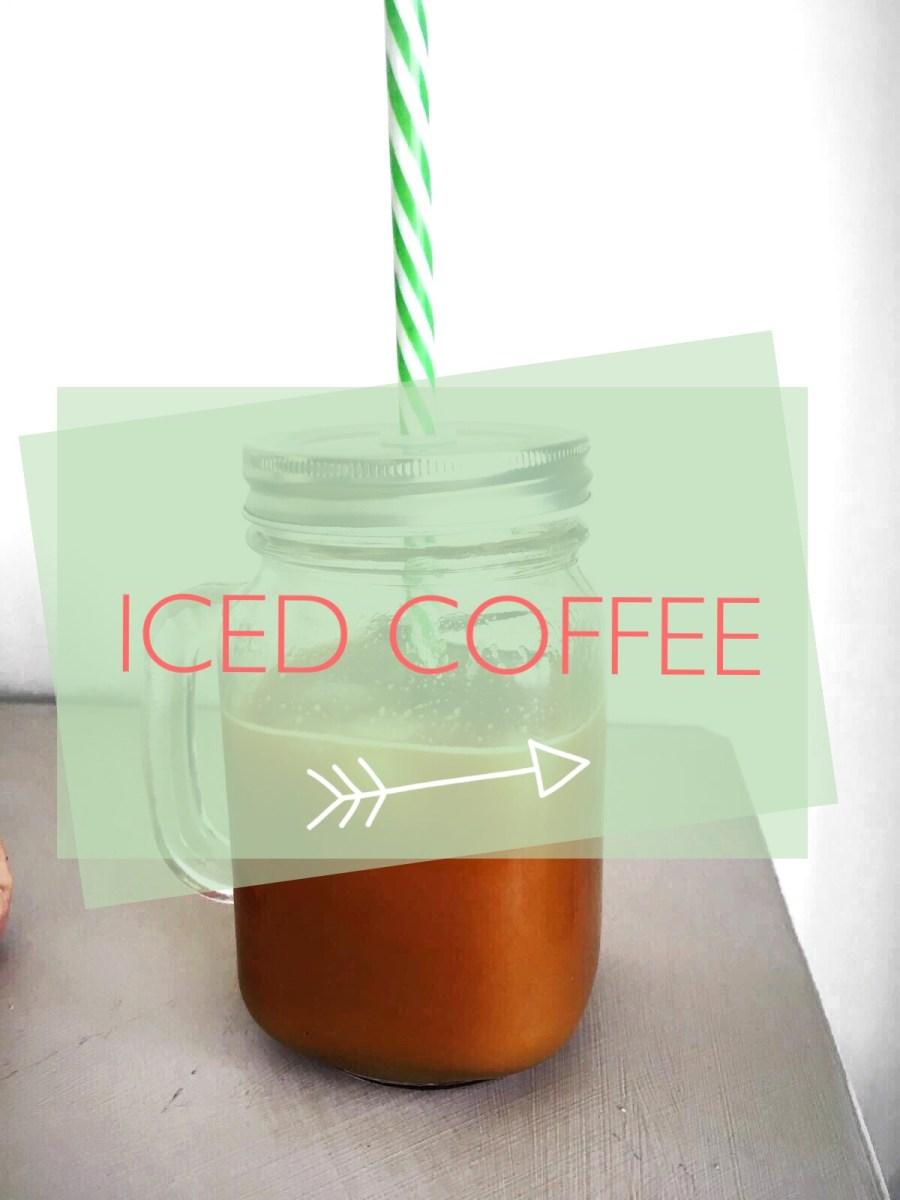 Iced Coffee zelf maken