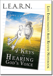LEARN 4 Keys to Hearing God's Voice - Cover Image