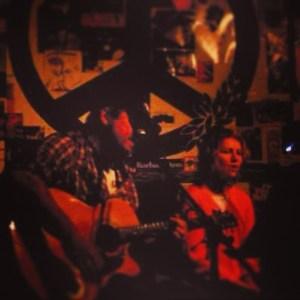 Matt & Laurel at Mojo Risin (Houston; July 2008)