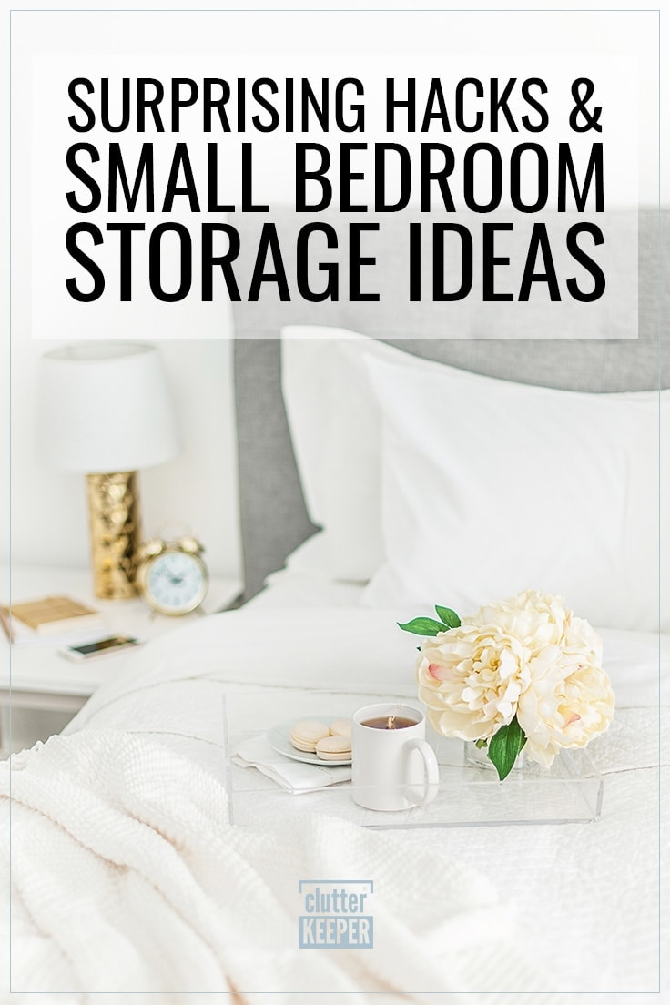 18 Small Bedroom Storage Ideas Surprising Hacks Clutter