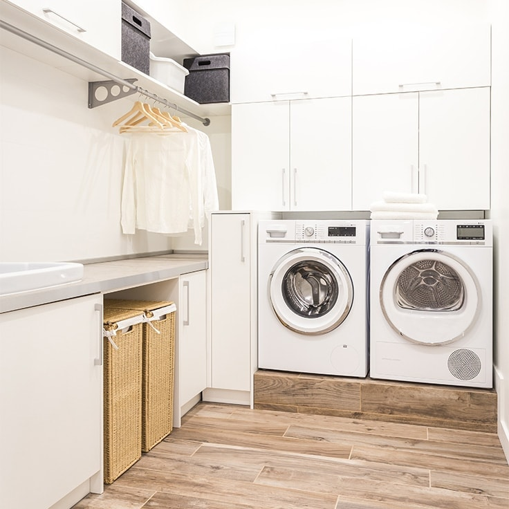 Essential Laundry Room Cabinets Ideas | Clutter Keeper on Laundry Room Cabinet Ideas  id=37708