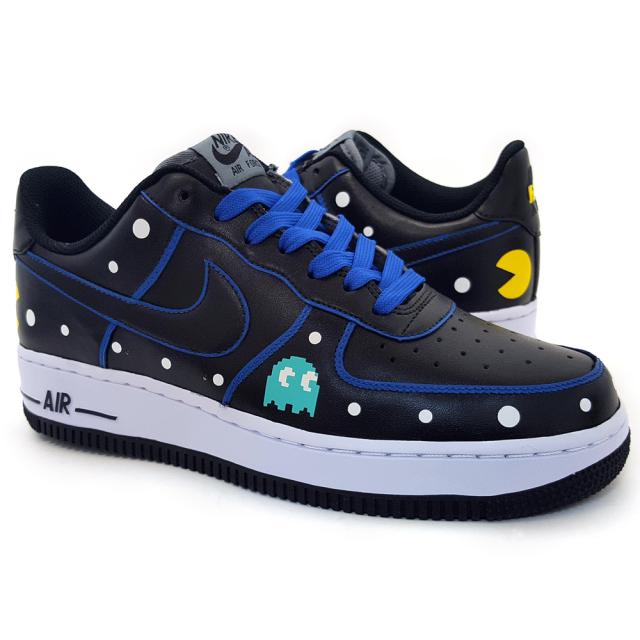 Custom Pac Man Sneakers By Sekure D Clutter Magazine
