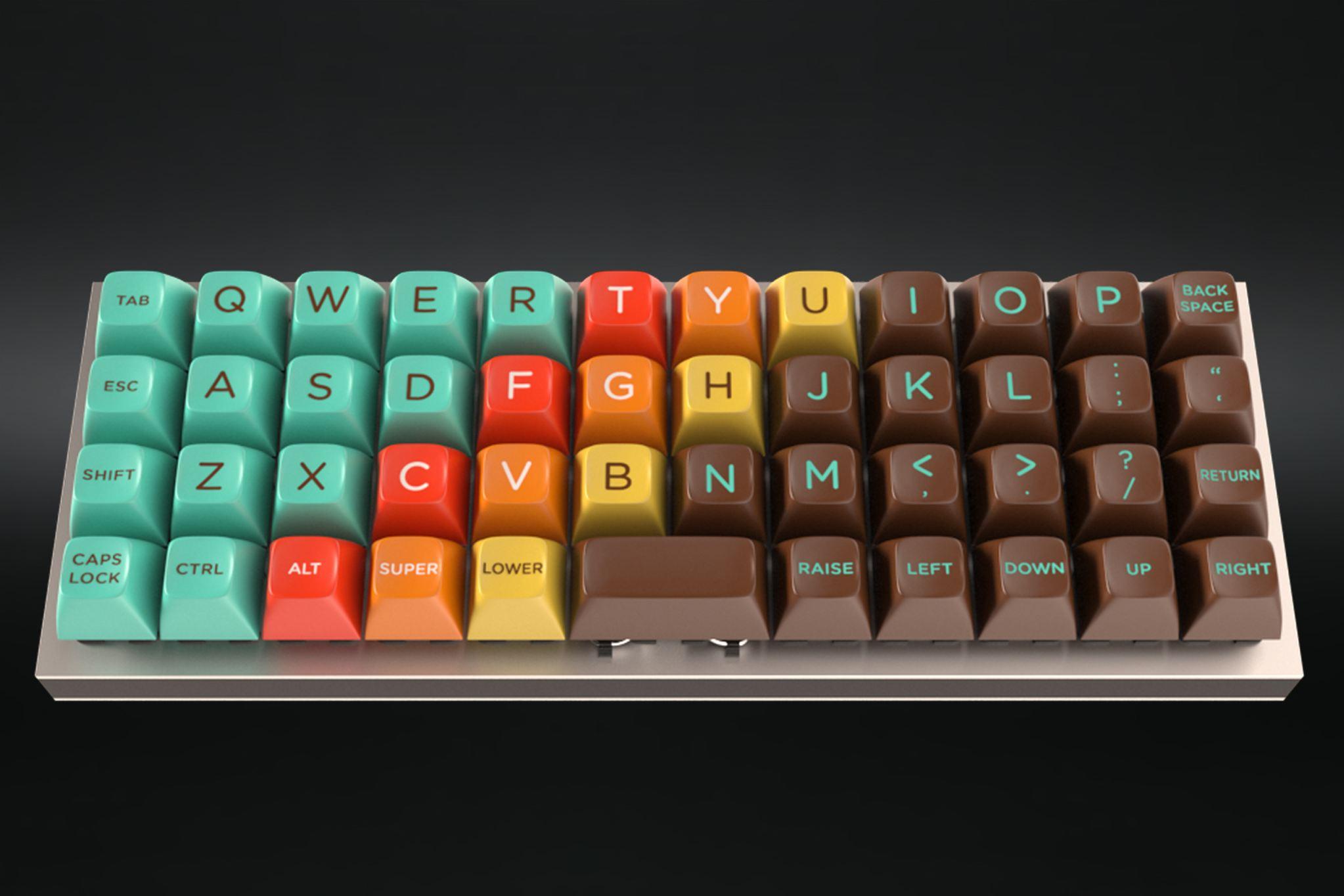 S Color Scheme Keyboard Buttons By Massdrop