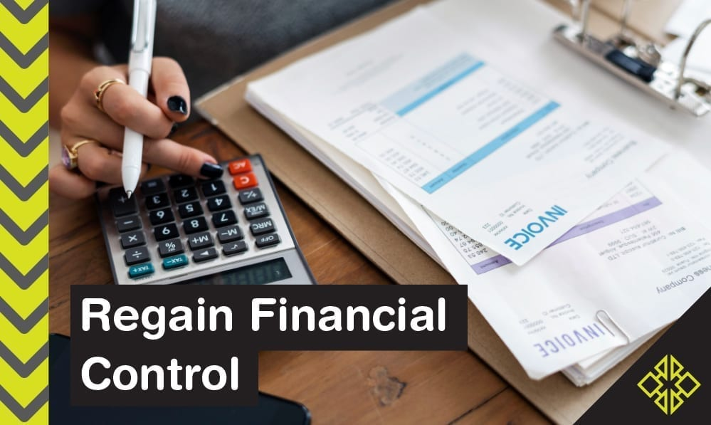 Feel like your finances are out of control? Get started in record time with these 12 tips.