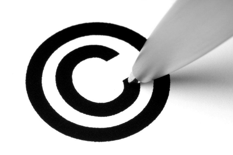Artists Awakening to Copyright Law s Importance   Clyde Fitch Report black copyright symbol dreamstime