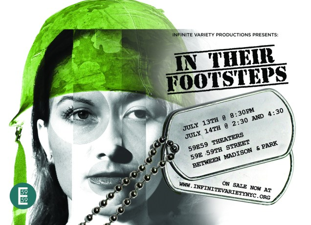 Image result for in their footsteps by Infinite Variety Productions