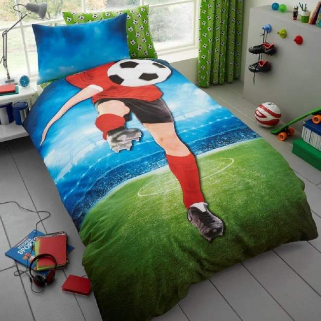 Football Single duvet set