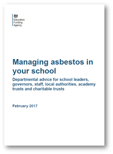 Managing asbestos in your school - EFA - 2017