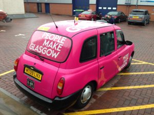 Glasgow Taxis People Make Glasgow Full Wrap