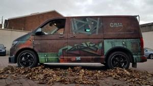 VAN-Dalised VW T6 Transporter custom graphics