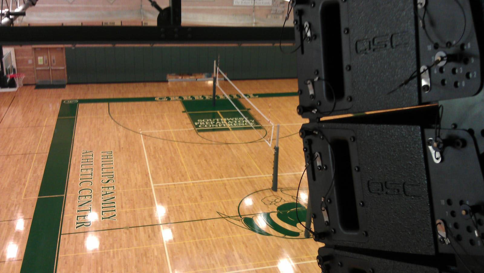 GC Pro Solves Greenhill School's Gymnasium Sound System Problems in a Single Day