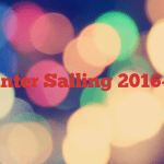 Winter Sailing 2016-17